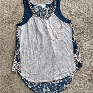 Ladies size small Miss me top